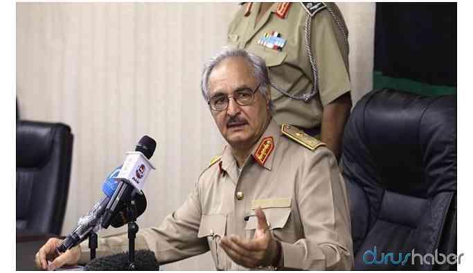 Libyalı General Hafter Berlin konferansına katılma kararı aldı