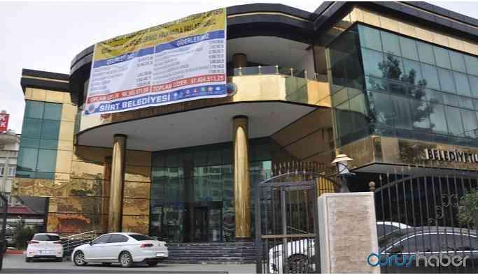 HDP'li Siirt Belediyesi'nden icra açıklaması