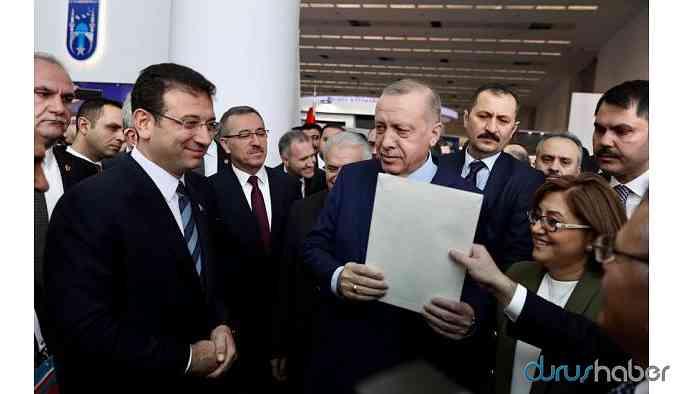 İBB Başkanı İmamoğlu, Erdoğan'a verdiği mektubun içeriğini açıkladı