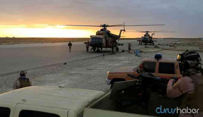 Irak'ta ABD askerlerinin bulunduğu üsse saldırı