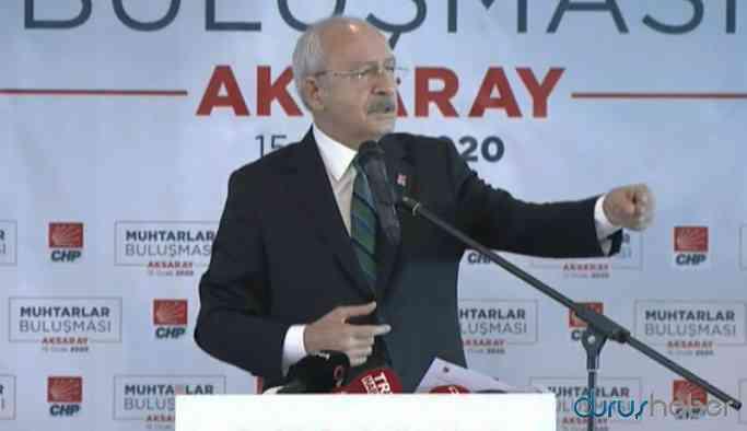 Kılıçdaroğlu: Emlak vergisinden yüzde bir de muhtarlara ödensin