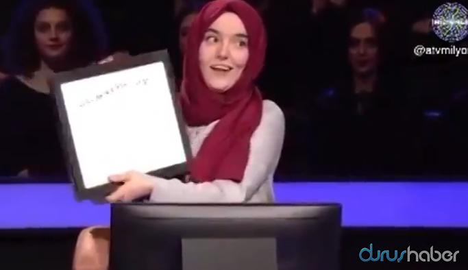 Kim Milyoner Olmak İster yarışmasında bir ilk