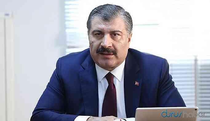 Sağlık Bakanı Koca'dan 'corona virüs' açıklaması