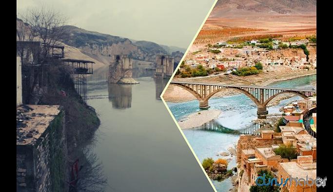 12 bin yıllık Hasankeyf'i sular yutmaya başladı