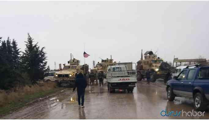 Suriye'de tehlikeli gerginlik! Rus zırhlı aracının önü ABD'li askerler tarafından kesildi!