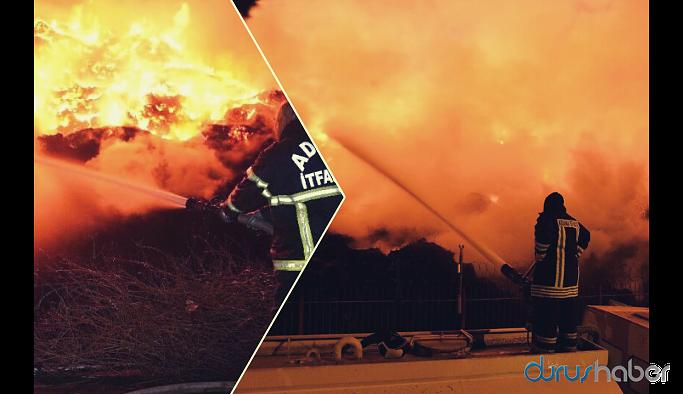 Adana'daki yangında ikinci gün: Söndürülemiyor!