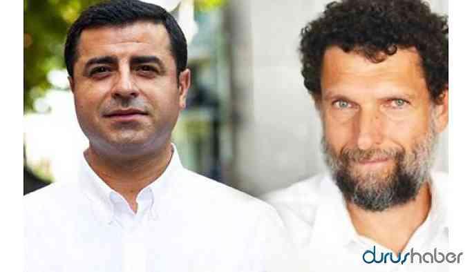 Avrupa Parlamentosu'ndan Ankara'ya Kavala ve Demirtaş çağrısı!