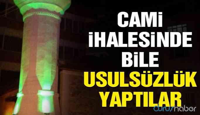 AKP'li belediyede cami ihalesinde usulsüzlük