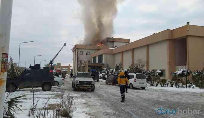 Devlet hastanesinde yangın!