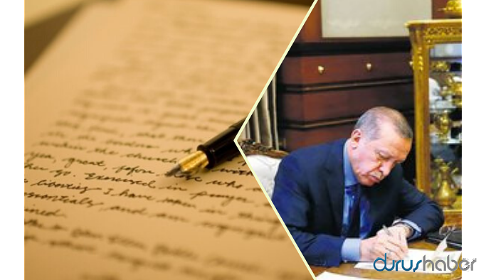 """Erdoğan'dan eski başkanlara """"kaçışı durdurma"""" mektubu!"""