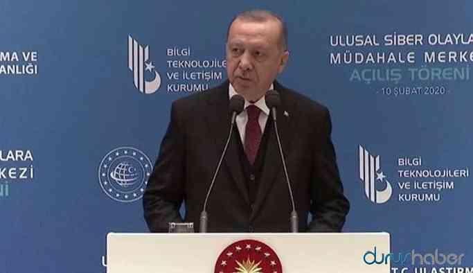 Cumhurbaşkanı Erdoğan: Sosyal medya tam bir çöplük