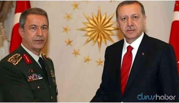 Cumhurbaşkanı Erdoğan ve Hulusi Akar görüştü