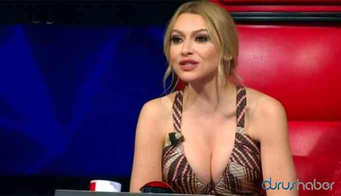 Şarkıcı Hadise'nin 'göğüs dekoltesi' onu ele verdi!