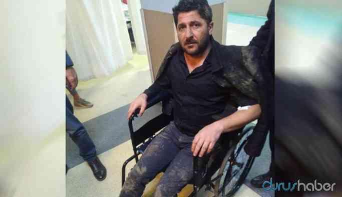 Polis, HDP'li eski başkanı evinde darp etti: 'Yanlış adresmiş'
