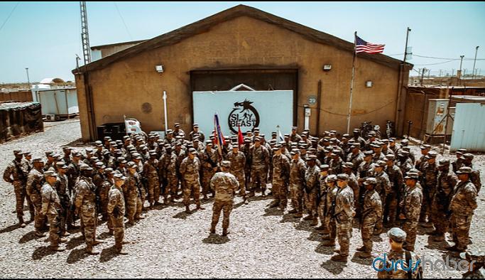 Irak'ta ABD üssüne saldırı düzenlendi