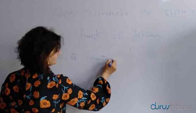 İSMEK'teki Kürtçe kursuna yoğun ilgi