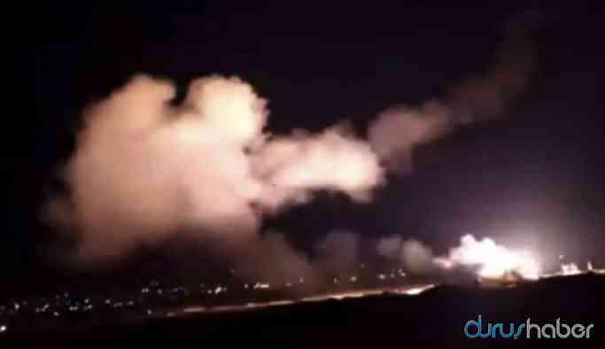 İsrail'den Şam'a füzeli saldırı!
