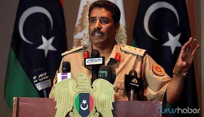 Libya Ulusal Ordusu: Türkiye ateşkesi ihlal ediyor