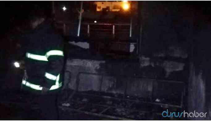 Kahreden haber: Anne ve 3 çocuğu yangında hayatını kaybetti