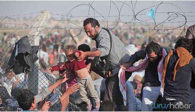 Sınırı geçen mülteci sayısı açıklandı!