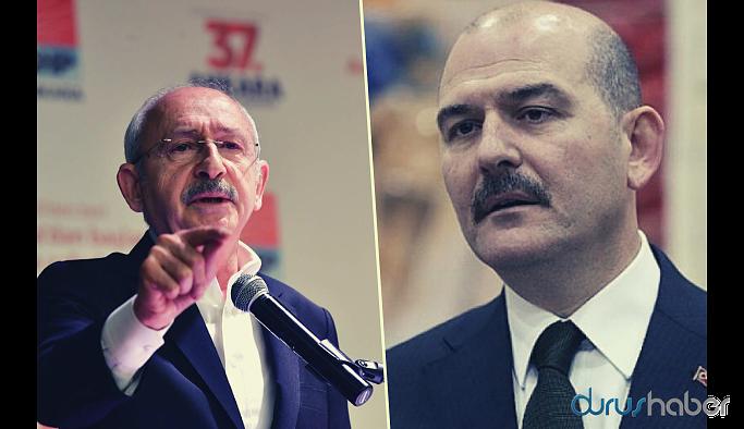 Soylu'dan Kılıçdaroğlu'na uyarı: Bu defterler açıldığında zarar görecek