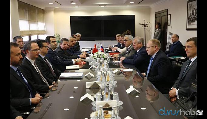 Türkiye ve Rusya heyetlerinin görüşmesi sona erdi