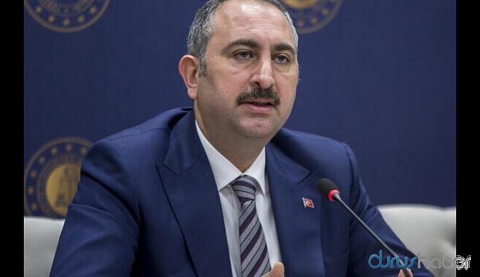 Adalet Bakanı 'coronavirüs' tedbirlerini açıkladı
