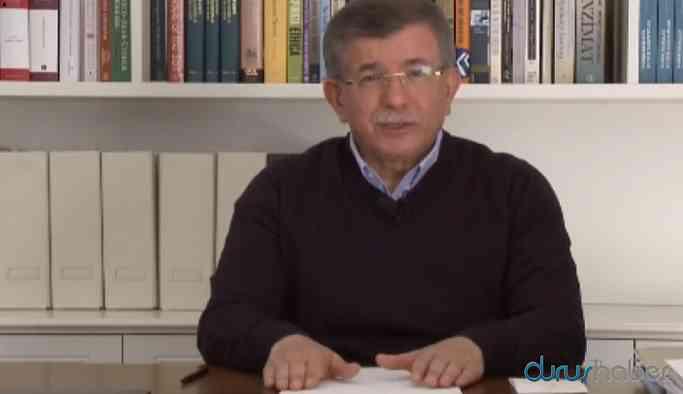 Ahmet Davutoğlu: KHK ile ihraç edilenler göreve çağrılmalıdır