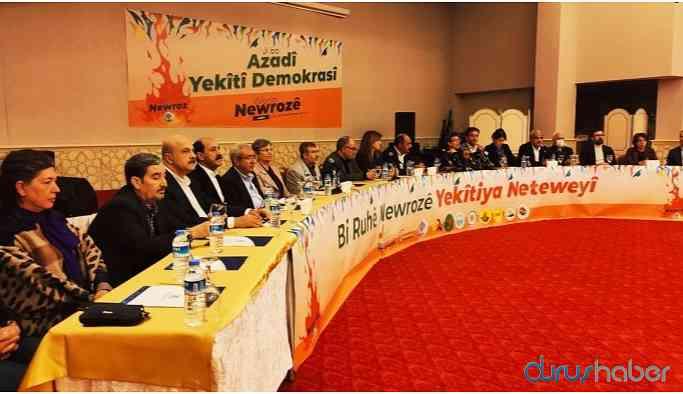 Diyarbakır'da Newroz'un startı verildi!