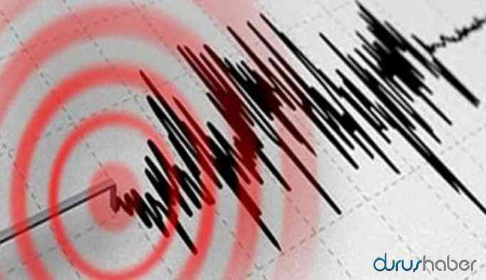 Elazığ'da deprem...