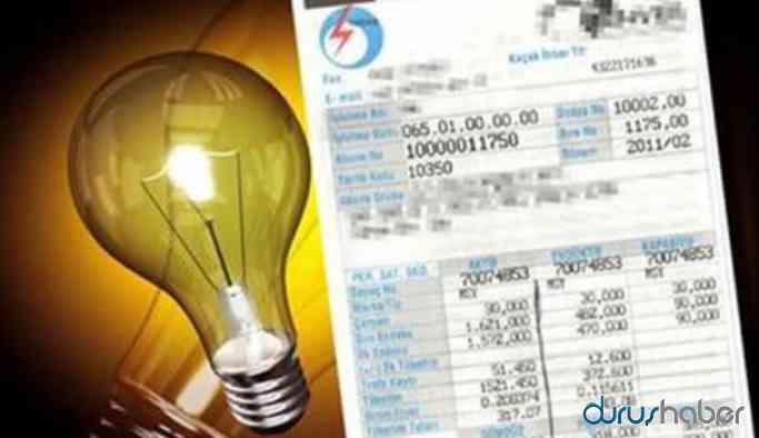Elektrik faturalarının ertelenmesi gündemde