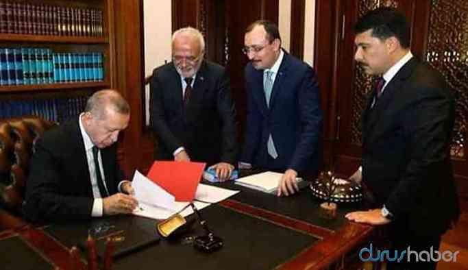 Karar yayımlandı! Erdoğan çok sayıda ismi görevden aldı!