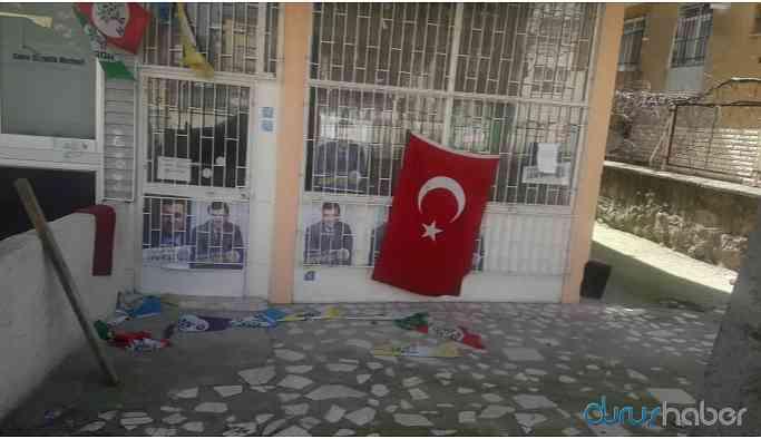 HDP binasına saldırı!