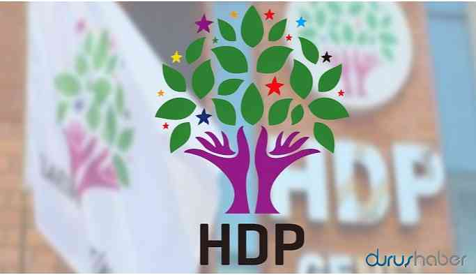 """HDP'den flaş """"sokağa çıkma yasağı"""" açıklaması"""