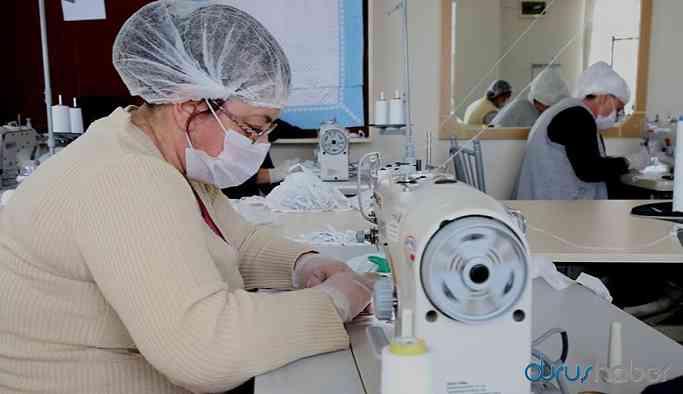 İç çamaşırı üreten firmalar maskeye döndü