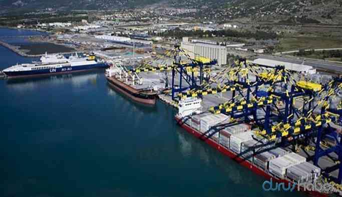 İskenderun Limanı'nda bir TIR şoförü karantinaya alındı