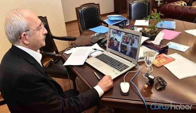 Kılıçdaroğlu'ndan 11 başkanla corona toplantısı