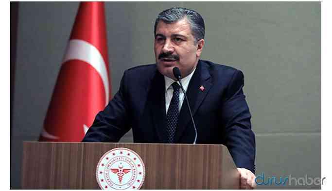 Sağlık Bakanı Koca: Vakaların tüm Türkiye'ye yayıldığını söyleyebilirim