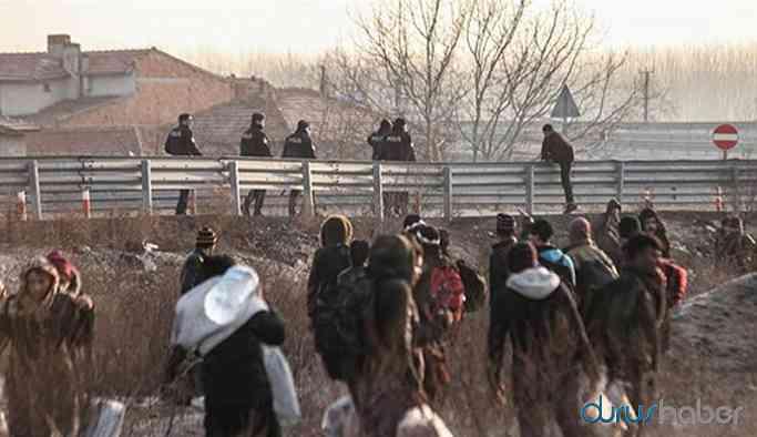 Umudunu kaybeden mülteciler sınırdan dönüyor!
