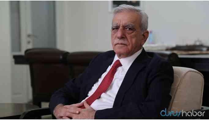 Ahmet Türk: Salgına karşı en büyük mücadele toplumsal barıştır