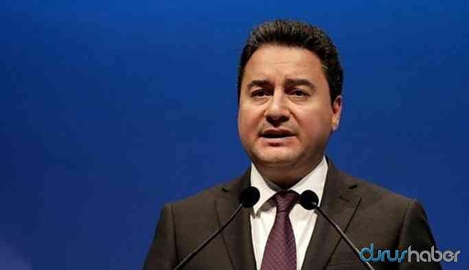 Ali Babacan'dan Soylu'nun istifasına ilişkin dikkat çeken açıklama