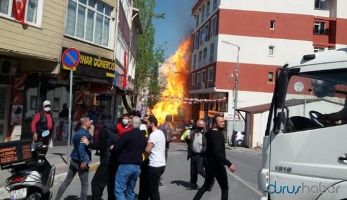 İstanbul'da doğalgaz patlaması: Yaralılar var
