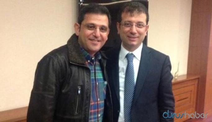 Ekrem İmamoğlu'ndan Fatih Portakal'a destek