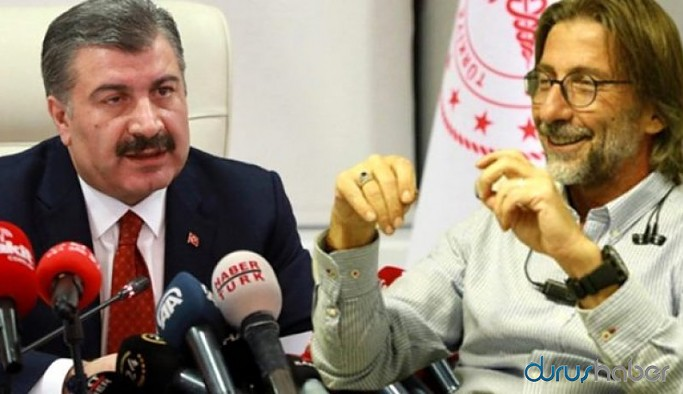 Prof. Dr. Ercüment Ovalı'dan Sağlık Bakanı Fahrettin Koca'nın eleştirilerine yanıt