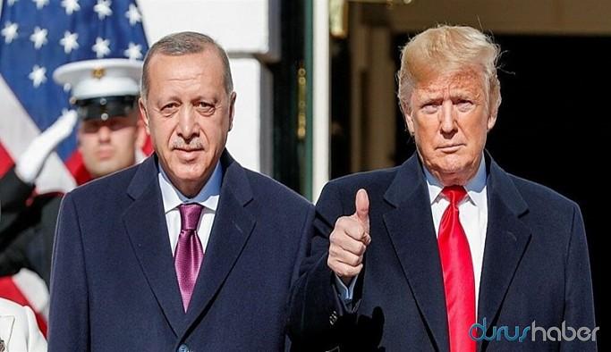 """Erdoğan'dan, Trump'a """"yardım"""" mektubu"""
