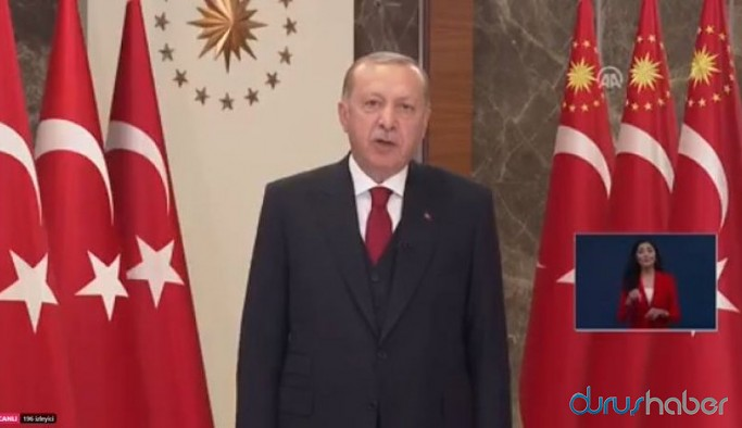 Erdoğan'ın konuşması bitmediği için Meclis'teki İstiklal Marşı töreni bekletildi