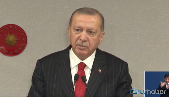 Erdoğan: Kesinlikle parayla maske satışı yasaktır