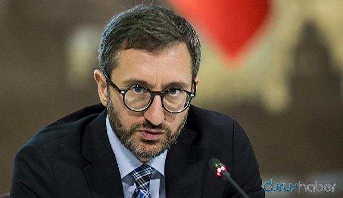Fahrettin Altun'un boğazdaki inşaatına dair haberlere 'terör' soruşturması