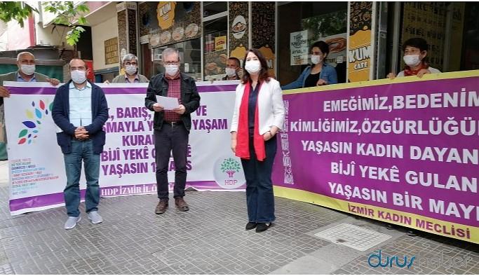 HDP Emek Komisyonu: Hayatı durduruyor, 1 Mayıs'ı kutluyoruz