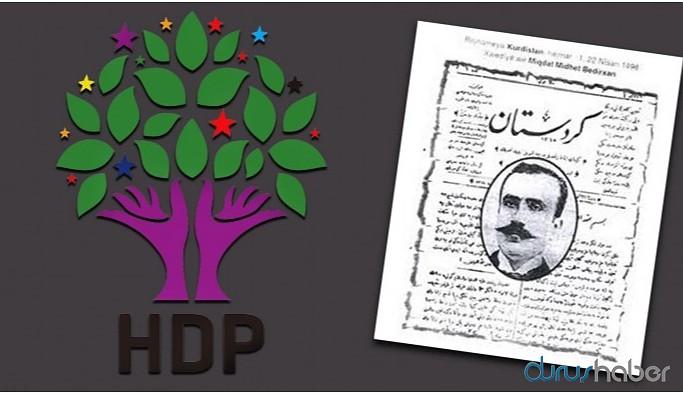 HDP: Kürt basın geleneği onurlu bir yolculuğun tarihidir